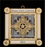 The Official Capitol of Texas Ornament 2013
