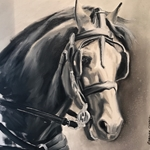"""Bridled Beauty"" by Charice Cooper"