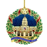 2018 Capitol of Texas Christmas Ornament