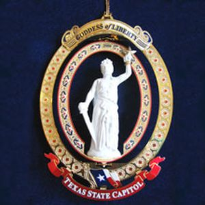The Official State of Texas Ornament 2006