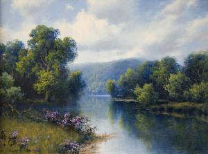 SOLD - Morning Calm by A. D. Greer