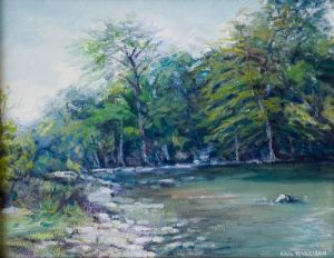Guadalupe River Original by Eric Harrison
