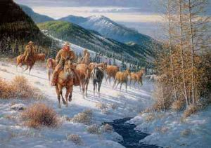 High Country Cowboys - by Jack Terry
