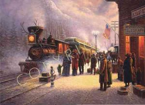 When the Denver Rode the Rails - by Jack Terry