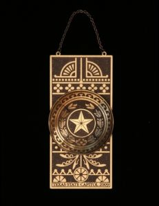 The Official State of Texas Ornament 2009
