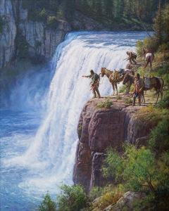 Spirit of the River Falls by Martin Grelle
