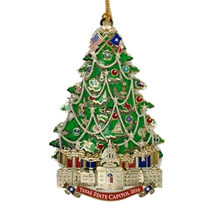 Capitol of Texas Christmas Ornament 2016
