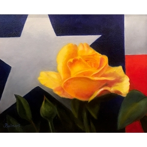 """Yellow Rose"" by Nancy Balmert"