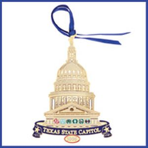 The Official State of Texas Ornament 2005