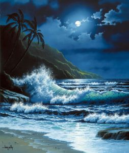 Maui Moonlight by Larry Prellop