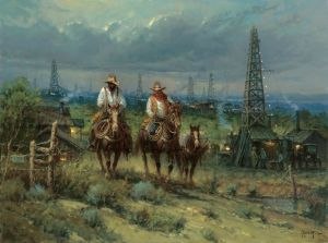 Oil Patch Cowhands by G. Harvey