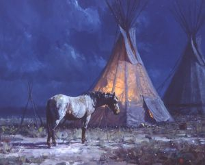 Night Glow by Martin Grelle