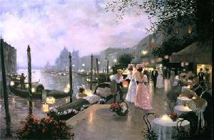 Night Festival in Venice by Christa Kieffer