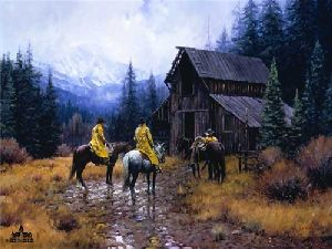 Muddy Morning by Martin Grelle