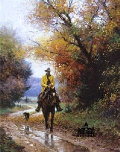 Rainy Autumn by Martin Grelle