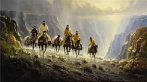 Men of the American West by G. Harvey