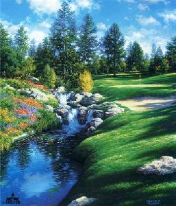 The 12th at Castle Pines by Larry Dyke