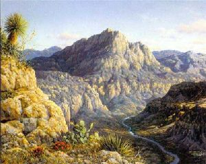 Big Bend - Four Faces of Texas by Larry Dyke