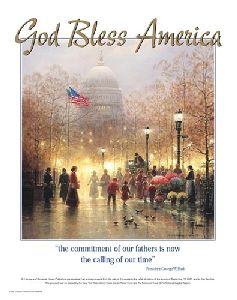 God Bless America by G. Harvey